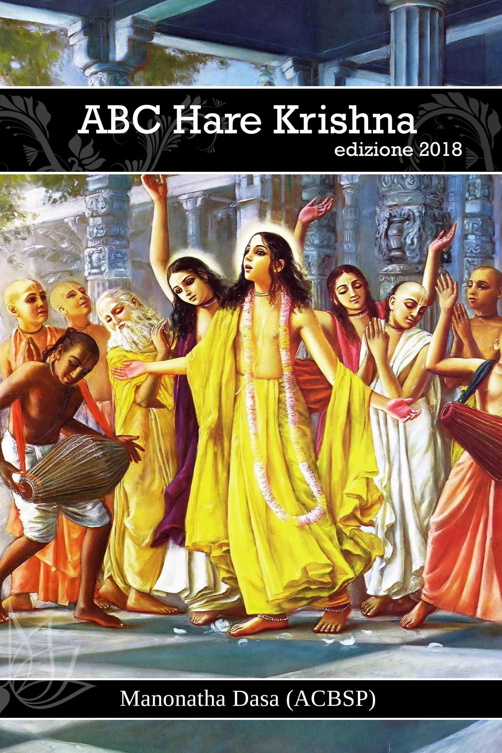 ABC Hare Krishna (Italiano)